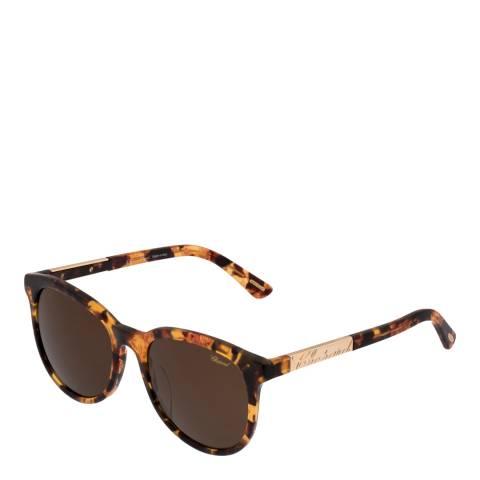 Chopard Women's Brown Mottled Chopard Sunglasses 55mm
