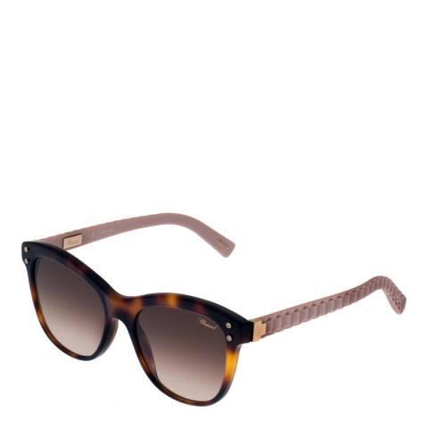 Chopard Women's Brown/Pink Chopard Square Sunglasses 53mm