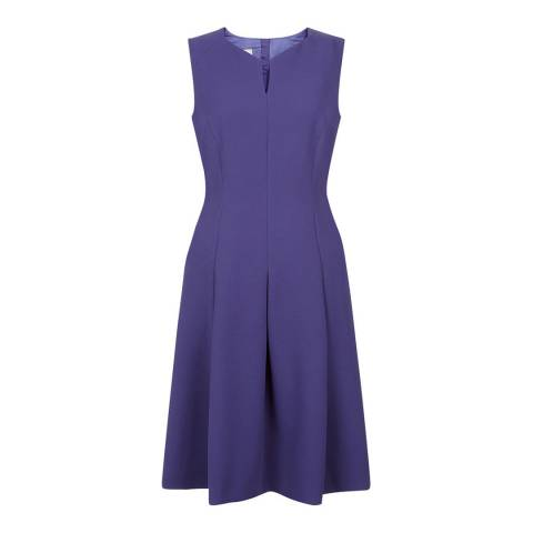 Hobbs London Blue Hettie Dress