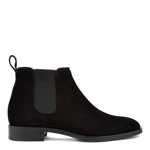 Hobbs London Black Suede Wren Boot