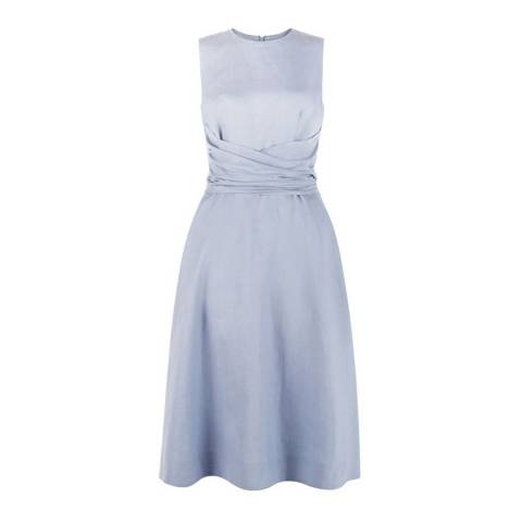 Hobbs London Blue Twitchill Dress