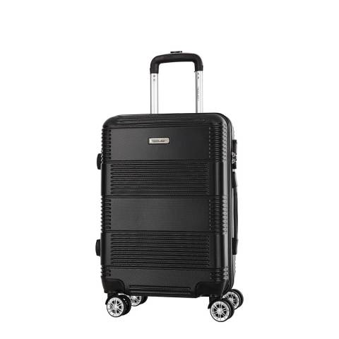 Travel One Black 8 Wheel Staveley Suitcase 57cm