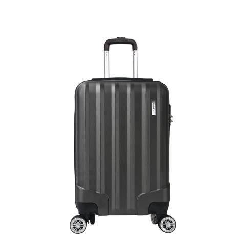 Cabine Size Grey 8 Wheel Lake Suitcase 52cm