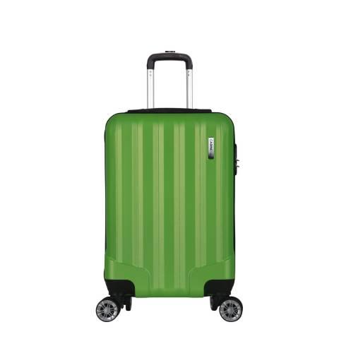Cabine Size Green 8 Wheel Lake Suitcase 52cm