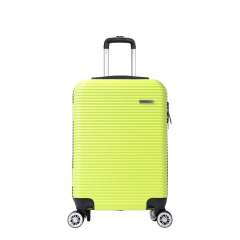 Cabine Size Yellow 8 Wheel Levin Suitcase 52cm