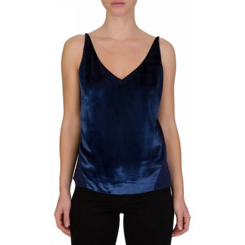 J Brand Navy Lucy Cami Top