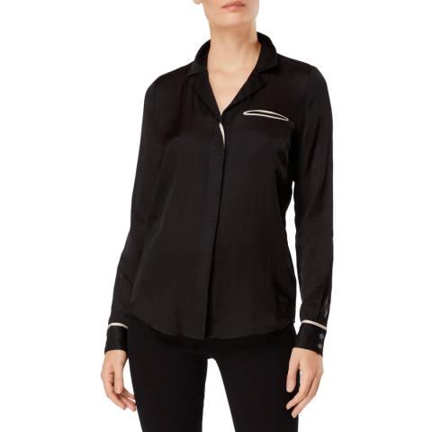 J Brand Black Kaiya Shirt