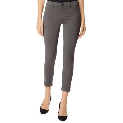 J Brand Grey Anja Skinny Stretch Jeans