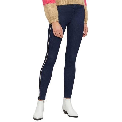 J Brand Indigo Maria High Rise Skinny Jeans