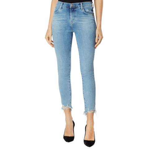 J Brand Light Blue Alana Skinny Stretch Jeans