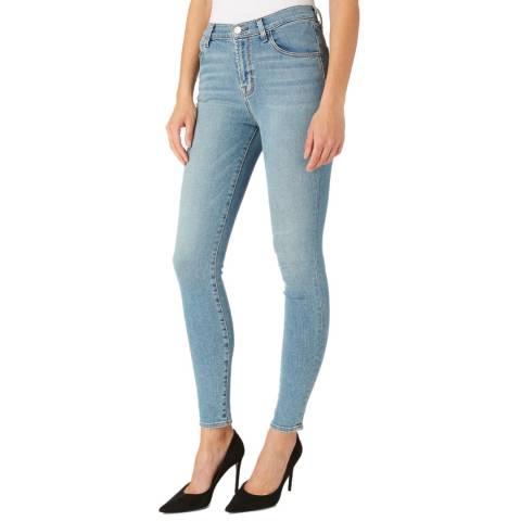 J Brand Light Blue Maria Skinny Stretch Jeans