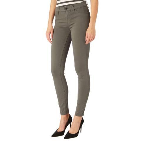 J Brand Warm Grey 485 Skinny Stretch Jeans