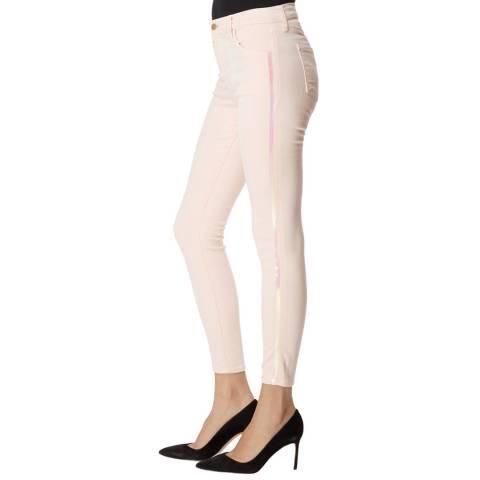 J Brand Pink Alana Skinny Stretch Jeans