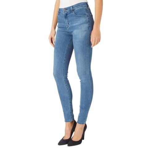 J Brand True Blue Maria Skinny Stretch Jeans