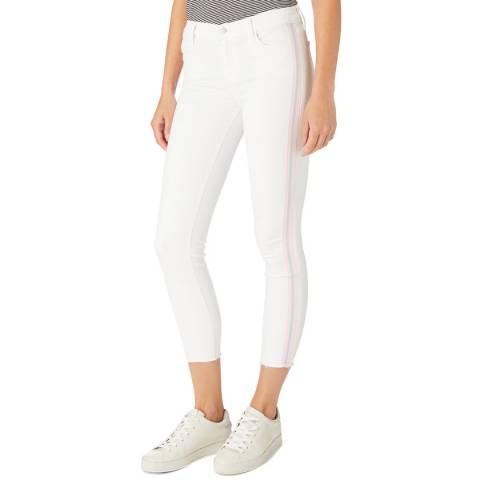 J Brand White 835 Skinny Stretch Jeans