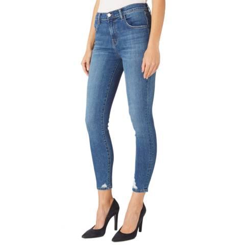 J Brand Mid Blue Alana Skinny Stretch Jeans