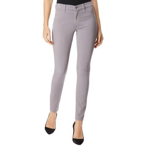 J Brand Grey 485 Skinny Stretch Jeans