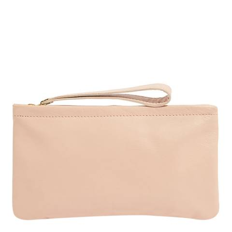 Oasis Light Pink Lucy Leather Purse