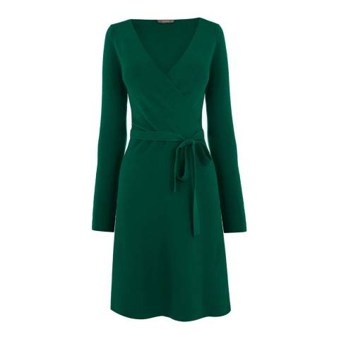Oasis Green Millie Tie Side Dress