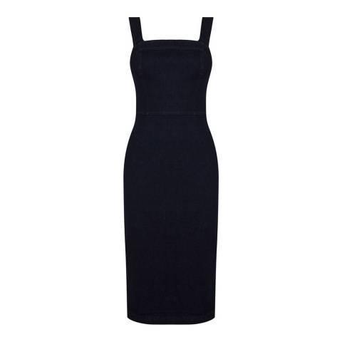 Oasis Dark Wash Denim Stephanie Pencil Dress