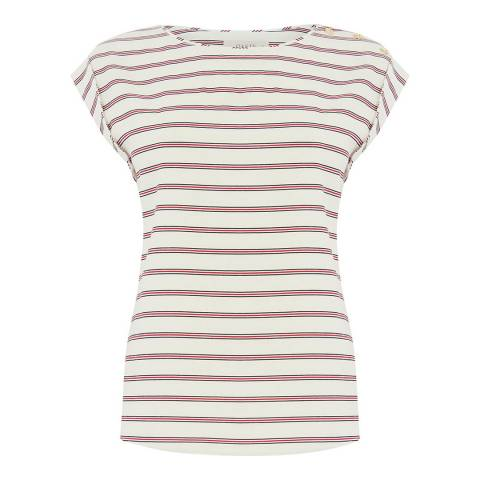 Oasis Natural Striped Tee