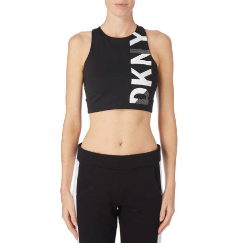 DKNY Black Medium Impact Bra
