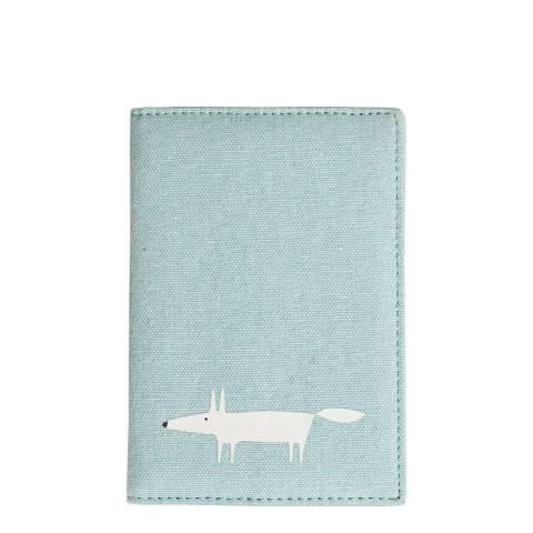 Scion Blue Mr Fox Passport Cover