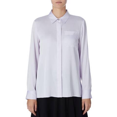 DKNY Purple Buttoned Through Shirt