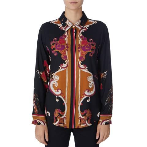DKNY Multi Long Sleeve Heritage Shirt