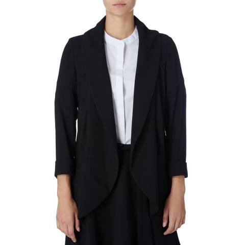 DKNY Black 3/4 Sleeved Jacket