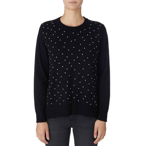 DKNY Black Long Sleeve Sweatshirt
