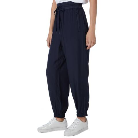 DKNY Navy Pull On Relaxed Trousers