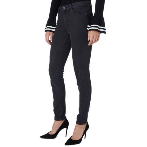 DKNY Black Ripped Skinny Jeans