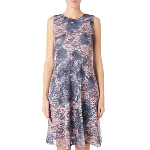 DKNY Multi Sleeveless Lace Dress