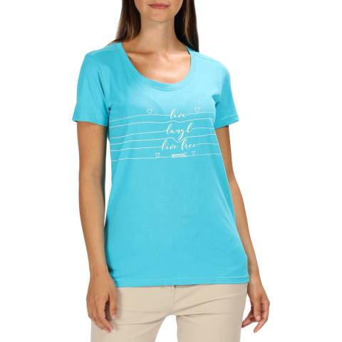 Regatta Azure Blue Filandra III T-Shirt