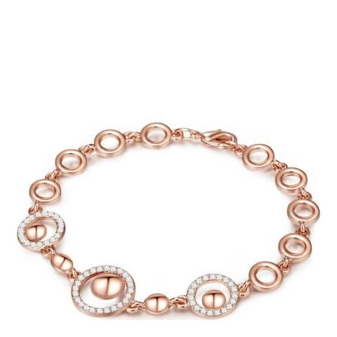 Saint Francis Crystals Rose Gold Crystal Bracelet