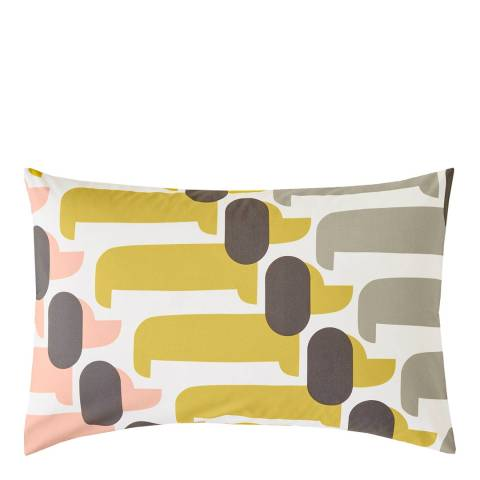 Orla Kiely Dog Show Pair of Housewife Pillowcases