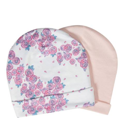 Aden & Anais Roses Set Of 2 Beanie Hats