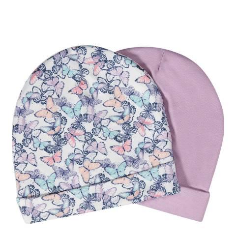 Aden & Anais Flutter Set Of 2 Beanie Hats