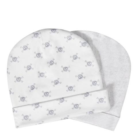 Aden & Anais Skulls Set Of 2 Beanie Hats