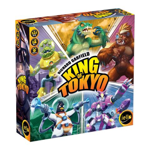 Coiledspring Games King of Tokyo 2016 Edition Family Game