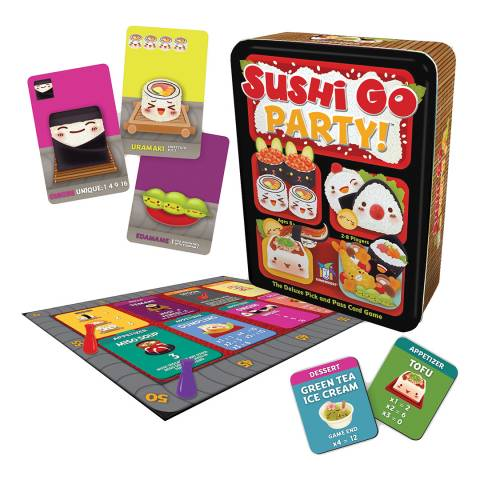 Coiledspring Games Sushi Go Party Card Game