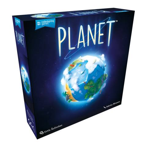 Coiledspring Games Planet Board Game