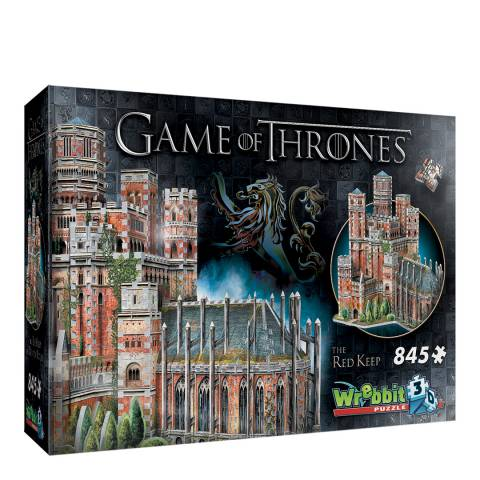 Coiledspring Games Game of Thrones 3D Red Keep Puzzle (845pc)