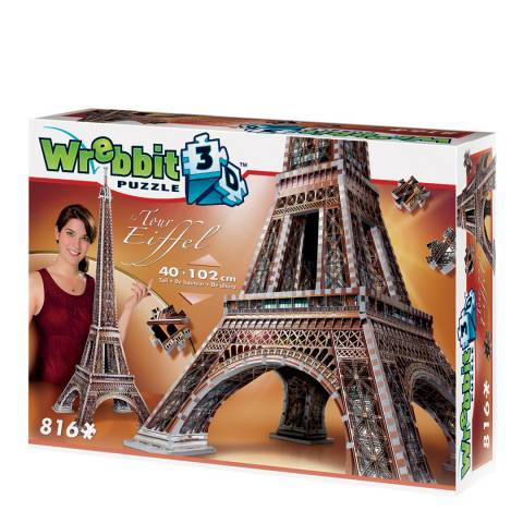 Coiledspring Games Eiffel Tower 3D Puzzle (816pc)