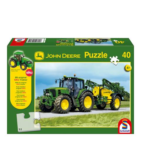 Coiledspring Games John Deere 6630 Tractor with Sprayer Puzzle (40pc)