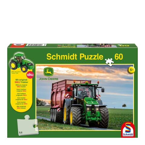 Coiledspring Games John Deere 8370R Tractor Puzzle (60pc)