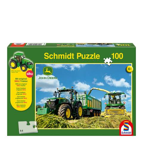 Coiledspring Games John Deere 7310R Tractor with 8600i Harvester Puzzle (100pc)