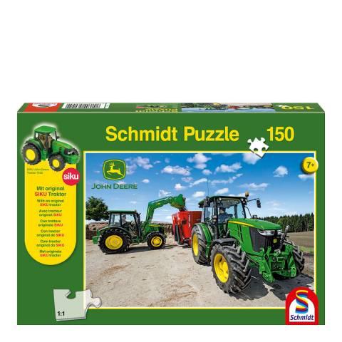 Coiledspring Games John Deere 5M Series Tractors Puzzle (150pc)