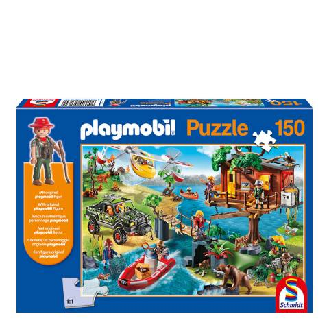 Playmobil Playmobil Tree House Puzzle With Figure (150pc)
